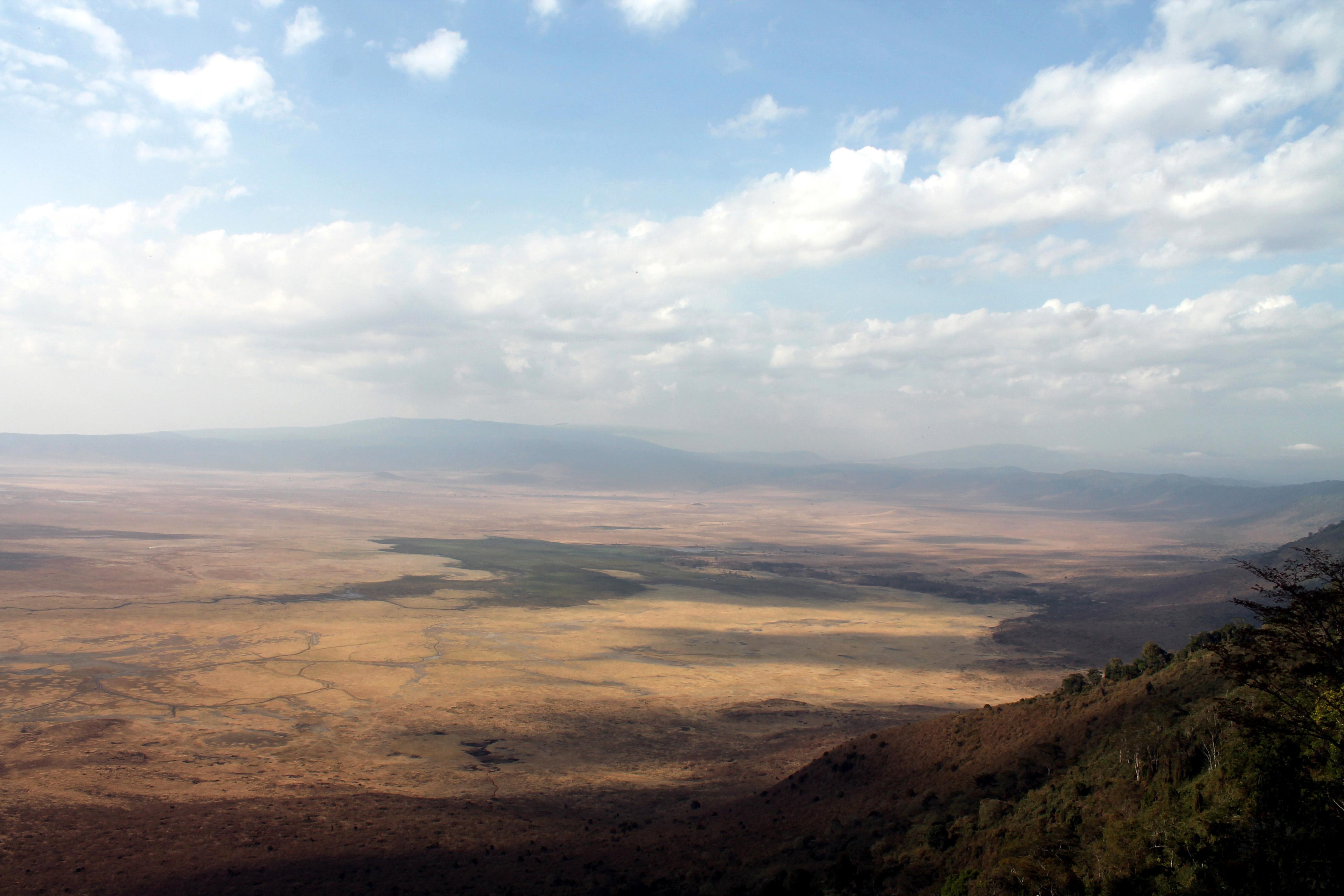 View on Ngorongoro Crater