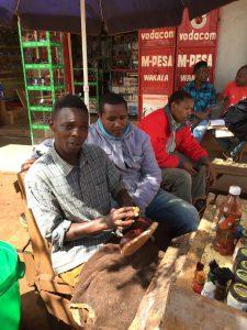Locals in Keratu Tanzania