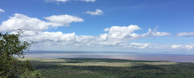 Lake Manyara National Park. View on Lake Manyara Tanzania