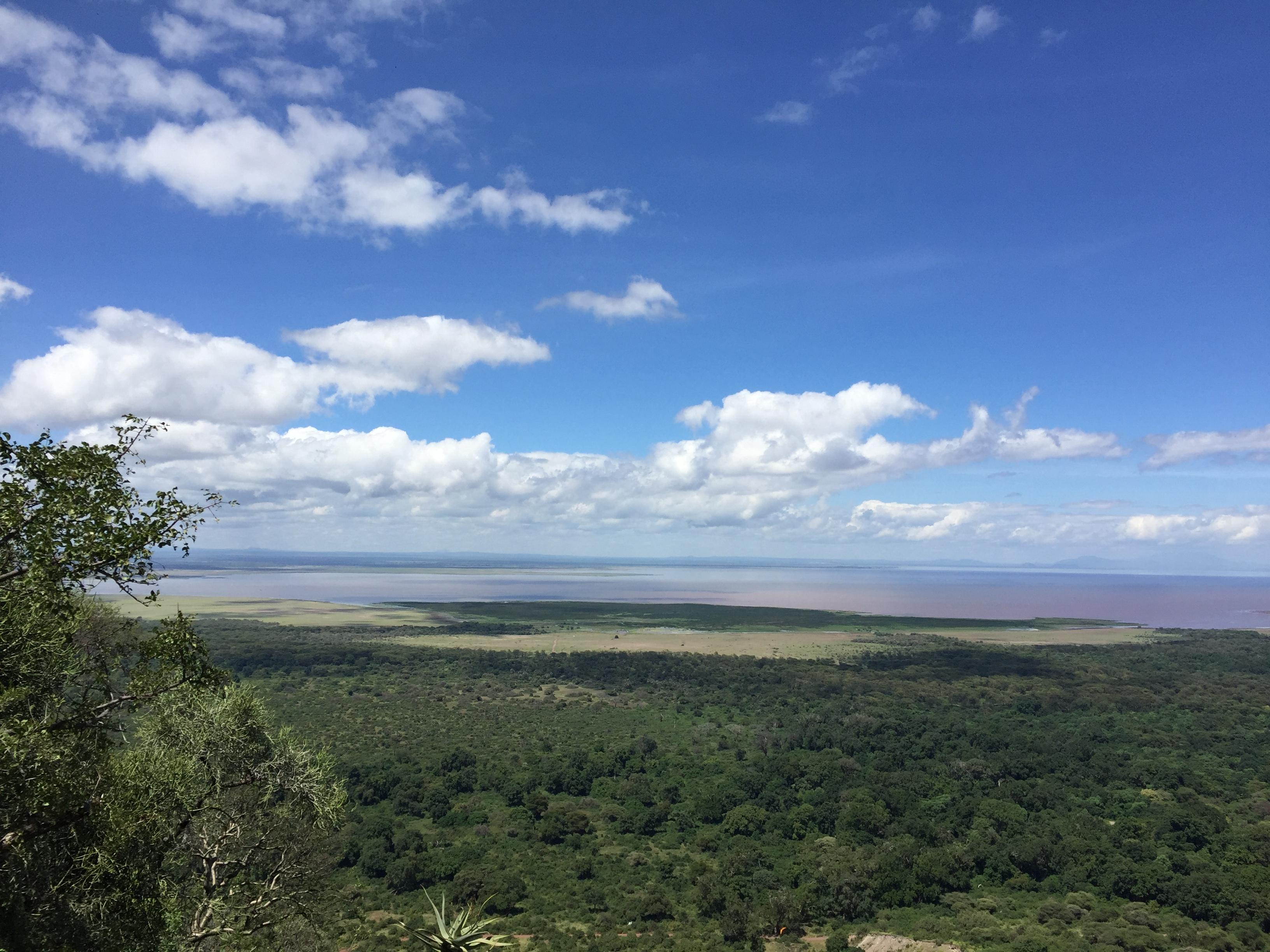 View on Lake Manyara National Park