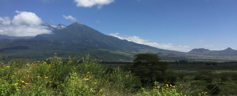 day trip arusha national park, Mount Meru