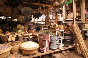 Market in Mto Wa Mbu Tanzania