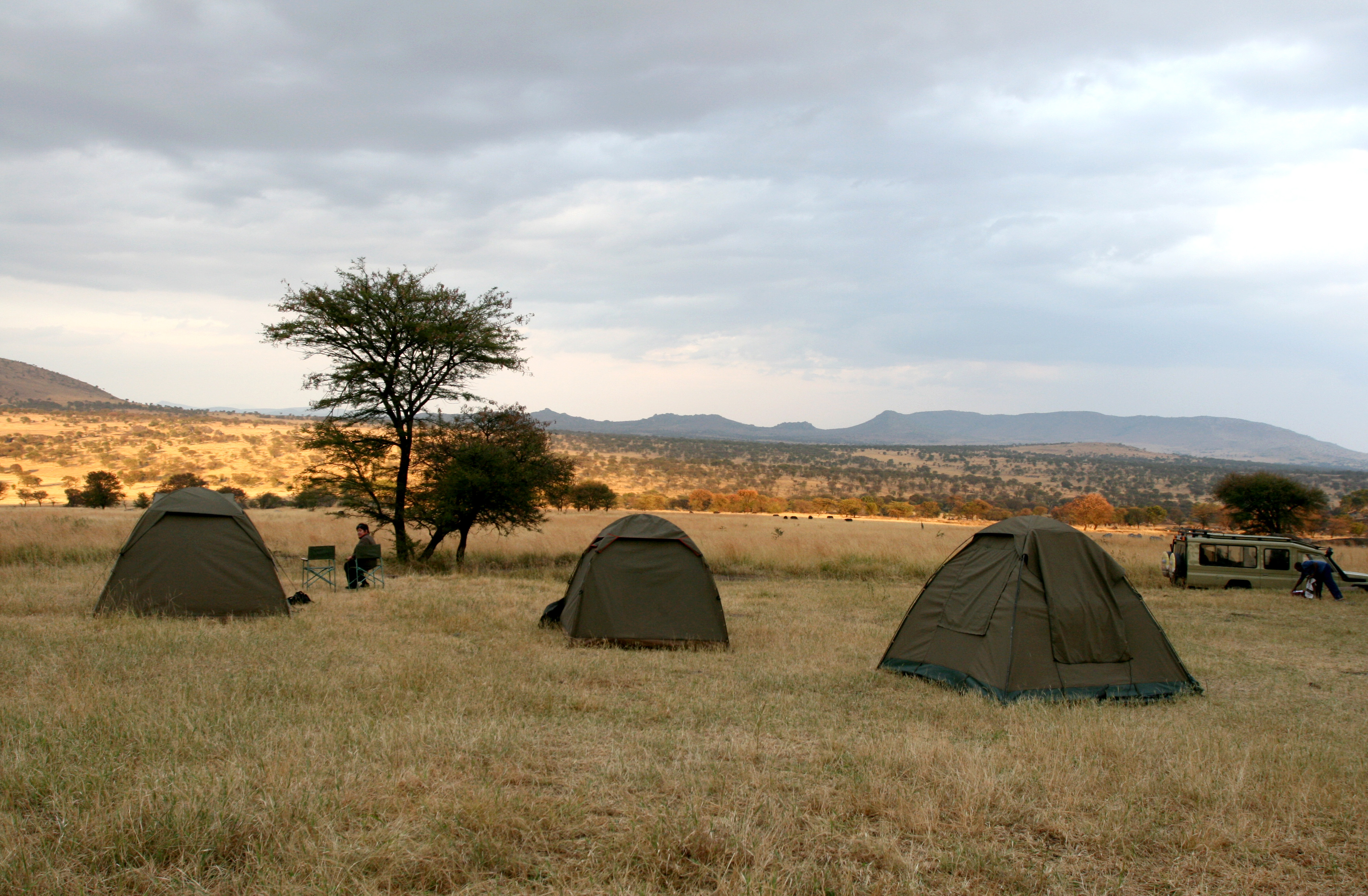 Camp in Lake Manyara Tanzania