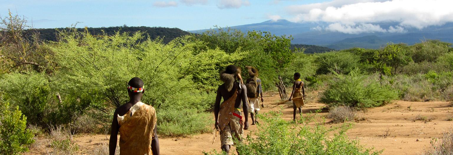 The Hadzabe tribe in Lake Eyasi area